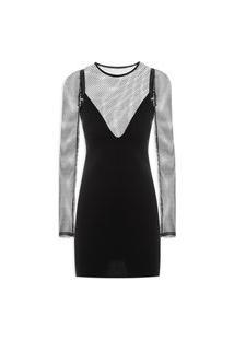 Vestido Leona - Preto