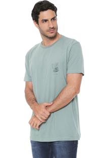 Camiseta Richards Aquarela Verde