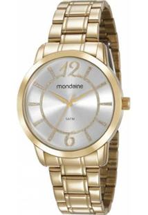 Zattini. Relógio Feminino Vidro Manual Seculus Mondaine Dourado ... 85e5f0ea1f