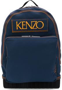 Kenzo Mochila Custo - Azul