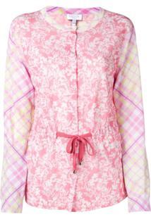Escada Sport Cardigan Estampado - Rosa