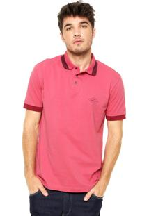 Camisa Polo Triton New Coral/Vinho