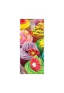 Adesivo Decorativo De Porta - Cupcakes - 536Cnpt Auto Colante