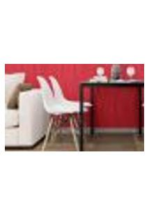 Papel De Parede Adesivo Abstrato Vermelho N07104 0,58X3,00M