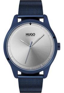 29497f53afb Relógio Hugo Boss Masculino Aço Azul - 1530045