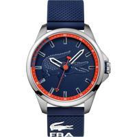 17caf12f7ff Relógio Lacoste Masculino Borracha Azul - 2010842