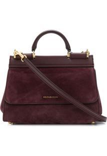 Dolce & Gabbana Sicily Bag - Vermelho