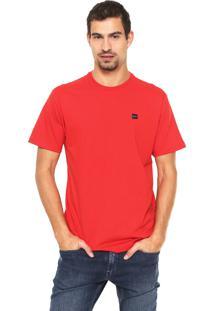 Camiseta Oakley Reta Logo Vermelha