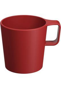 Caneca Empilhável Casual- Vermelha- 125Ml- Cozacoza