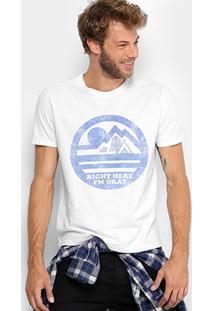 Camiseta Ellus 2Nd Floor Camp Vintage Masculina - Masculino