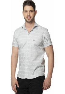 Camisa Alfaiataria Burguesia Slim Fit Light
