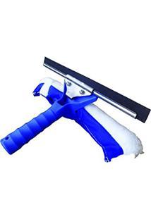 Rodo Limpa Vidros Dupla Função Régua 25 Cm Limpador Multiuso Sem Cabo