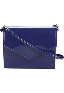Bolsa Petite Jolie Mini Bag Feminina - Feminino-Azul+Marinho
