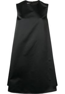 Rochas Vestido Evasê - Preto
