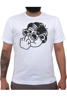 Beijo Me Liga - Camiseta Clássica Masculina
