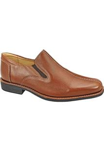Sapato Social Masculino Side Gore Sandro Moscoloni Teddy Marrom Claro