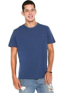 Camiseta Dixie Poá Azul