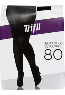 Meia Calça Trifil Af Opaca Plus Size - Feminino-Preto