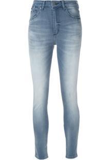 John John Calça Jeans Skinny - Azul