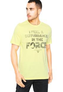 Camiseta Triton Disturbance Amarela