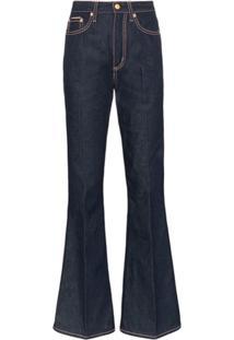 Eytys Calça Jeans Flare 'Oregon' - Azul