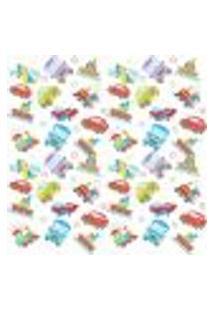 Papel De Parede Autocolante Rolo 0,58 X 5M - Infantil 125567417