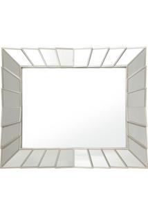 Espelho Royal Retangular De Parede Incolor