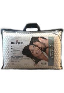 Travesseiro De Látex Dunlopillo Master Capa De Viscose Belga 50 X 70 Cm