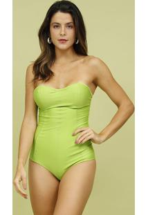 Maiã´ Tomara Que Caia Com Recortes- Verde- Mos Beach Mos Beach Wear