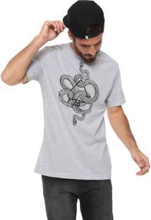 Camiseta Mcd Snakes Branca/Preta