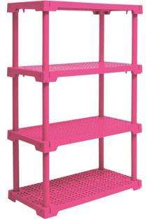 Estante Cube 4 Rosa
