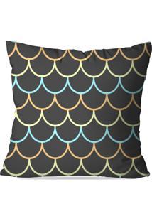 Capa De Almofada Love Decor Avulsa Formas Geometric Multicolorido - Kanui