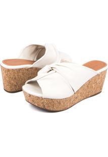Tamanco Trivalle Shoes Branco