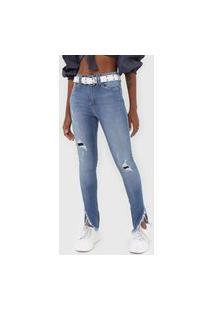 Calça Jeans Carmim Skinny Otawa Azul