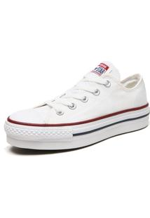 Tênis Converse Chuck Taylor All Star Pla Branco