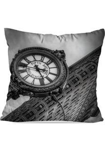 Capa De Almofada Avulsa Decorativa Londres 45X45Cm - Kanui