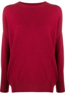 Guardaroba Suéter De Tricô - Vermelho