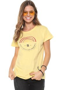Camiseta Hang Loose Surfriders Amarela