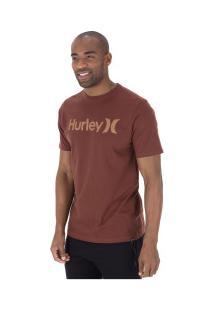Camiseta Hurley Silk O&O Solid - Masculina - Vinho