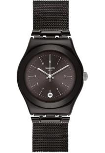 b28252292aa Relógio Digital Aco Swatch feminino