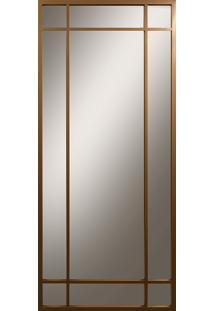 Espelho Decoret1 Liso Cristal Dourado