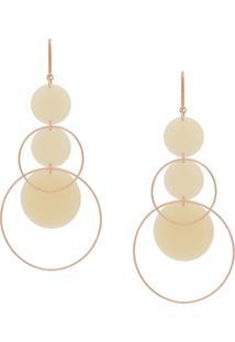 Isabel Marant Orb Dorp Earrings - Metálico