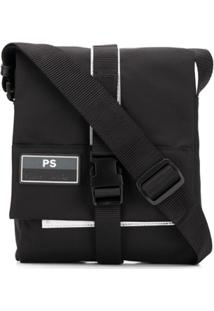 Ps Paul Smith Bolsa Carteiro Com Fivela - Preto