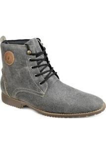 Bota Masculina Dress Boot Sandro Moscoloni Barretos - Masculino-Cinza