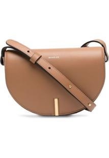 Wandler Nana Leather Shoulder Bag - Marrom