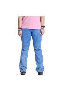 Calça Jeans Feminina Tassa Cintura Alta Light Blue (003534)
