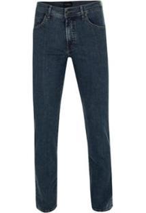 Calça Jeans Pierre Cardin Índigo Premium Special Dye - Masculino-Marinho