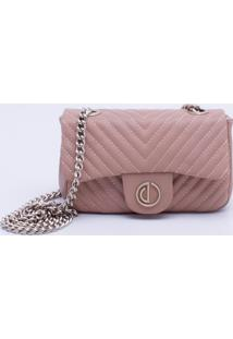 Bolsa Shoulder Bag Matelassê Areia - P