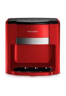 Cafeteira Multilaser 2 Xícaras 127V 500W - Filtro Permanente E Colher Dosadora - Vermelho - Be015 Be015