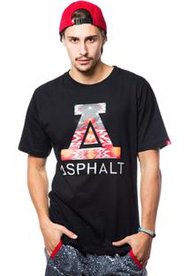 Camiseta Asphalt Ethnic Masculina - Masculino